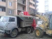 Вывоз мусора веток самосвалом 10м3, в Краснодаре