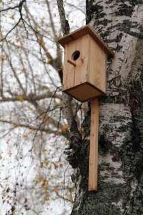 Кормушки и скворечники для птиц, в Волоколамске