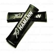 Накладки на ремни безопасности Hamann для BMW, 2 шт, в Москве