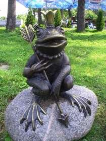 Царевна-лягушка из металла, в Краснодаре