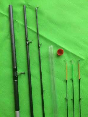Новый фидер США 3,9 м. STOP FISH 30-120 гр.