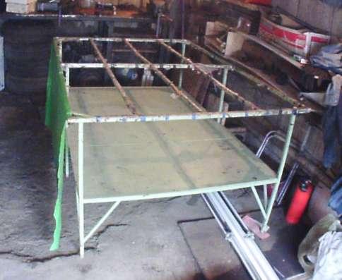 Стол для работы со стеклом и сборки окон