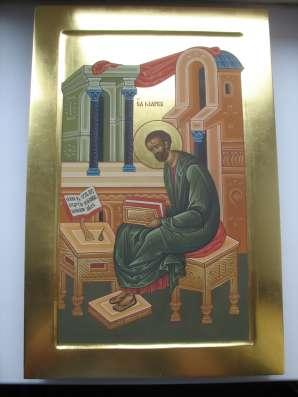 Икона храмовая на золоте .св Марк