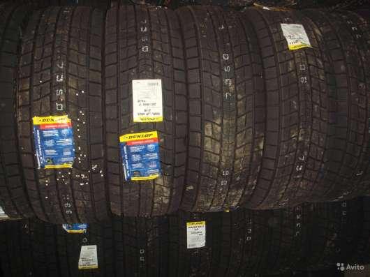 Новые липучки Dunlop 235/65 R17 Winter Maxx SJ8