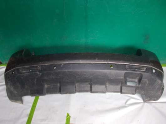 Передний бампер на Land Rover freelander 2