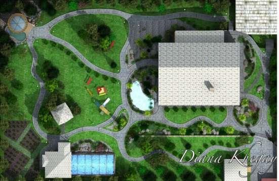 Ландшафтный дизайн в г. Алматы Фото 1