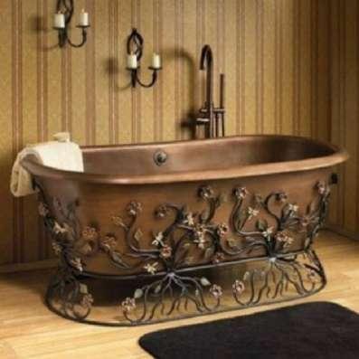 подставки кованые под ванны и раковины