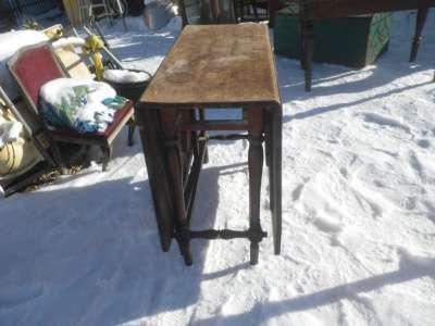 Старинный  стол  книжка