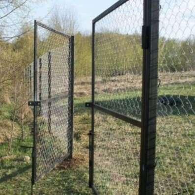 Продам ворота и калитки: каркас/с сеткой/с прутьями