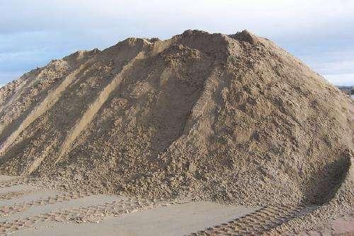 Песок строительный с доставкой