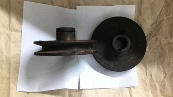 Шкив на электродвигатель (19х96мм), сталь