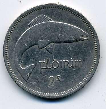 Ирландия 1 флорин 1964 г