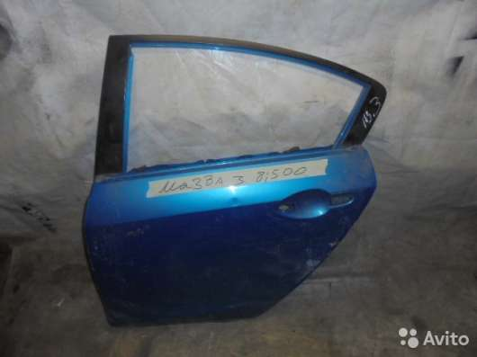 Дверь задняя левая на Mazda 3 (BL)