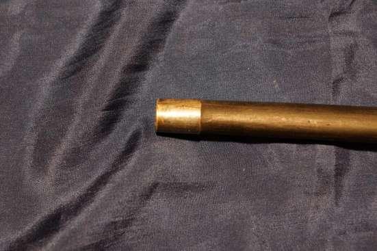 Винтажная трость c ручкой из рога и скрытым стилетом