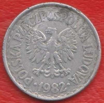 Польша 1 злотый 1982 г. Варшавский мондвор