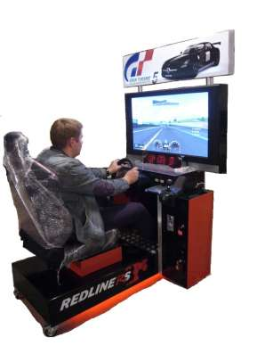Автогонки симулятор развлекательный автомат(новый) в Челябинске Фото 1