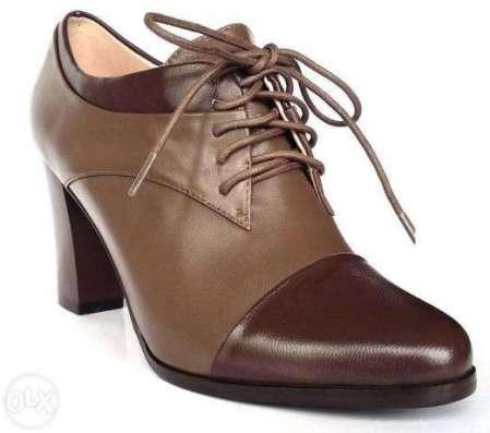 Осенние туфли из натуральной кожи