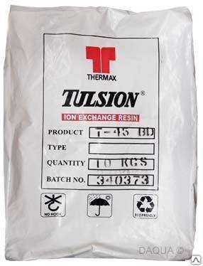 Сильнокислотный катионит Tulsion (Тульсион) T42 25 л