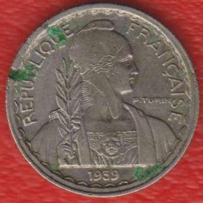 Индокитай Французский 10 центов 1939 г.