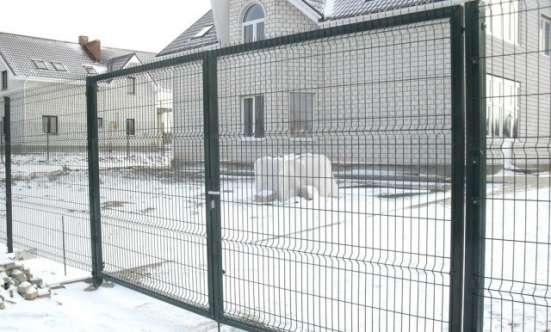 3Д Распашные ворота 1.73мx4м Выбор цвета RAL
