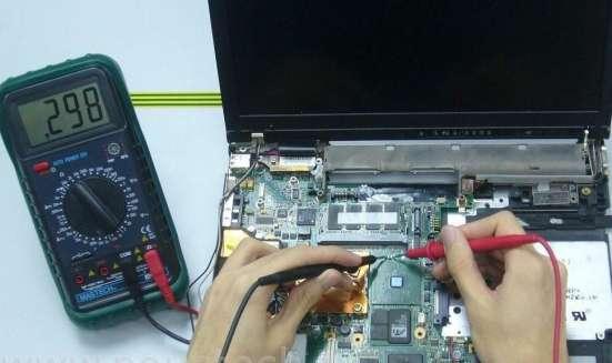 Услуги по ремонту и обслуживанию компьютеров и ноутбуков: