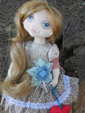 Куколка текстильная ручной работы Лика! в Ейске Фото 1