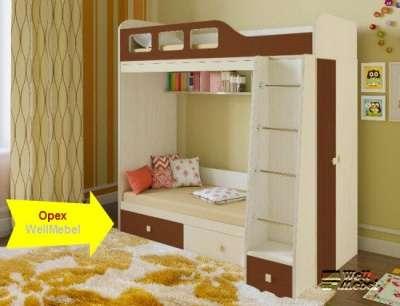 детскую кроватку  двухъярусная Астра 3