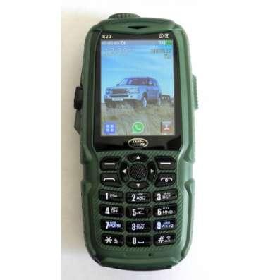 Противоударный телефон Land Rover S23 - 3 SIM,+USB лампа