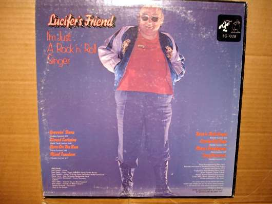 Пластинка Lucifer's Friend ‎– I'm Just A Rock'n'Roll Singer