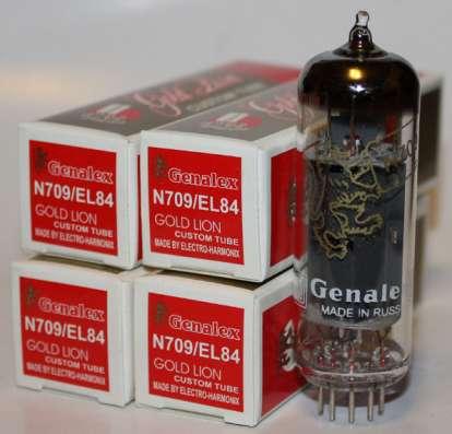 Радиолампа 12AX7 Genalex Gold Lion