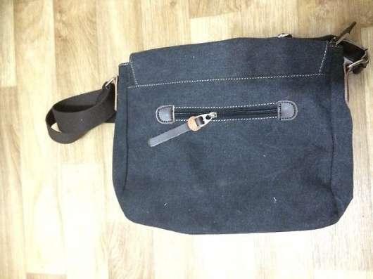 Холщовая молодежная сумка под формат А4
