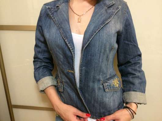 Продам джинсовый пиджак (блейзер) в Москве Фото 1
