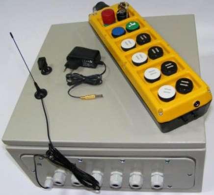 Перевод кранов на радиоуправление.