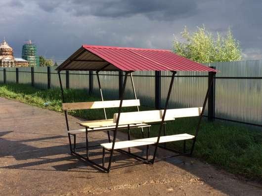 Беседки дачные в Красноярске Фото 1
