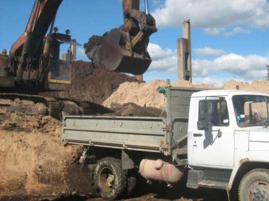 Песок щебень пгс отсев плетняк торф и т.д 5-13 тонн в Великом Новгороде Фото 1