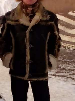 Продам кожаную куртку на меху в Москве Фото 1
