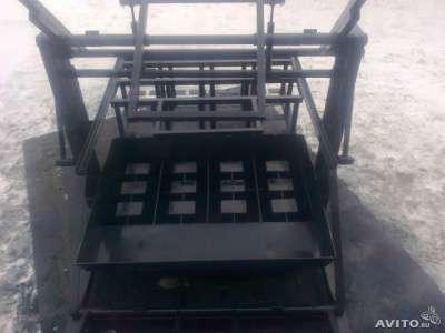 станок для шлакоблока Ип стройблок ВСШ 2 4 6 в Смоленске Фото 3