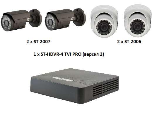 Ищите комплект видеонаблюдения для коттеджа?