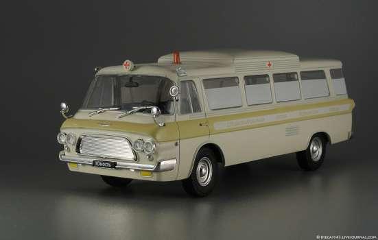 автомобиль на службе №49 Зил-118А Скорая медицинская помощь