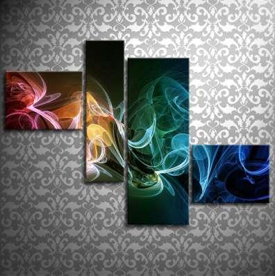 Модульные картины на стекле в г. Караганда Фото 1