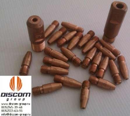 Токопроводящие наконечники для MIG/MAG (медные ДУКМ) в Чебоксарах Фото 1