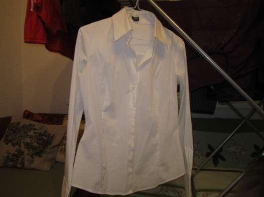 """Белая рубашка """"Эсприт"""" женская"""