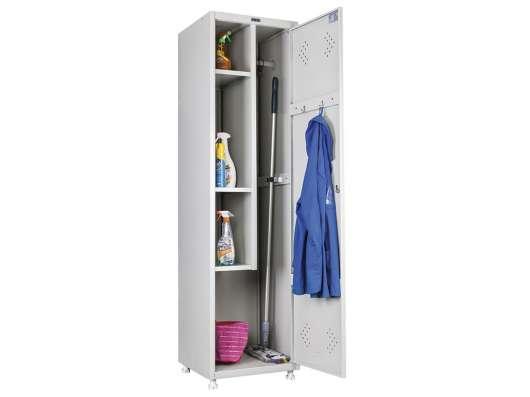 Шкаф металлический для хозинвентаря LS 11-50