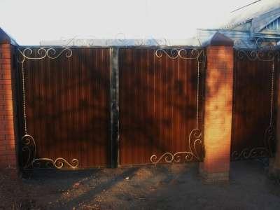 Металлические двери, ворота в г. Самара Фото 1