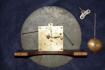 Часы настенные кабинетные Павелъ Буре. Поставщик Имп. Двора Паве