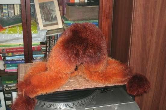 Шапка зимняя-лиса