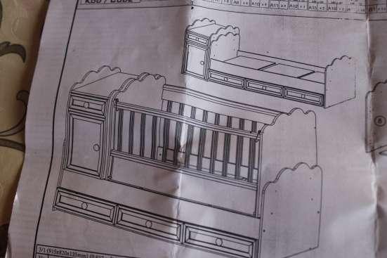 Продаю детскую кроватку (трансформер)