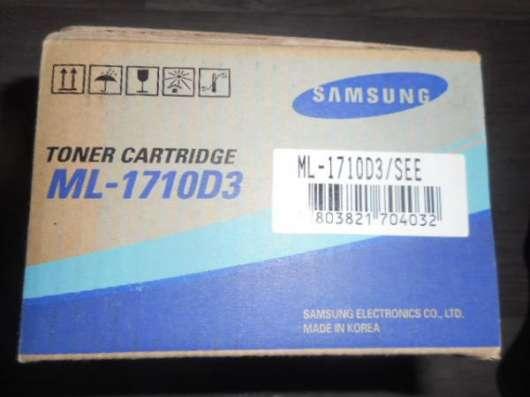Картридж ML1710D3 SAMSUNG Оригинал