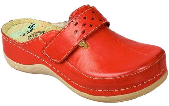Обувь женская сабо Леон-902,красные