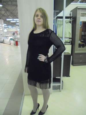 Платье черное коктельное, новое, р.44-46(М-L) в Москве Фото 3